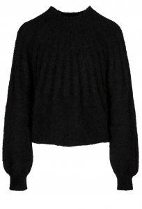 By-Bar | zoe pullover | Zwart