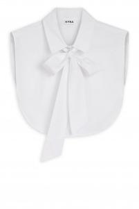 KYRA   bow collar   Wit