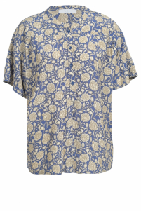 By-Bar | bo bombay blouse | Blauw