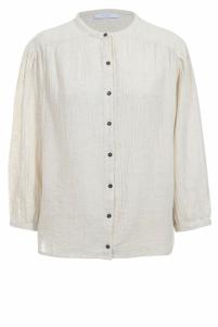 By-Bar | romee slub blouse | Beige