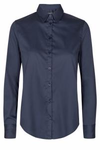 Mos Mosh | martina blouse | Blauw