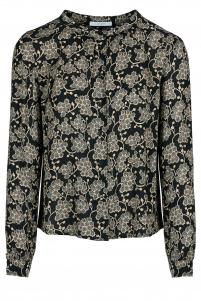 By-Bar | avia blouse | Zwart