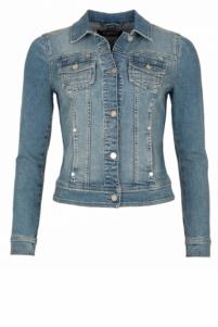 NickJean | gardien jacket denim | Blauw