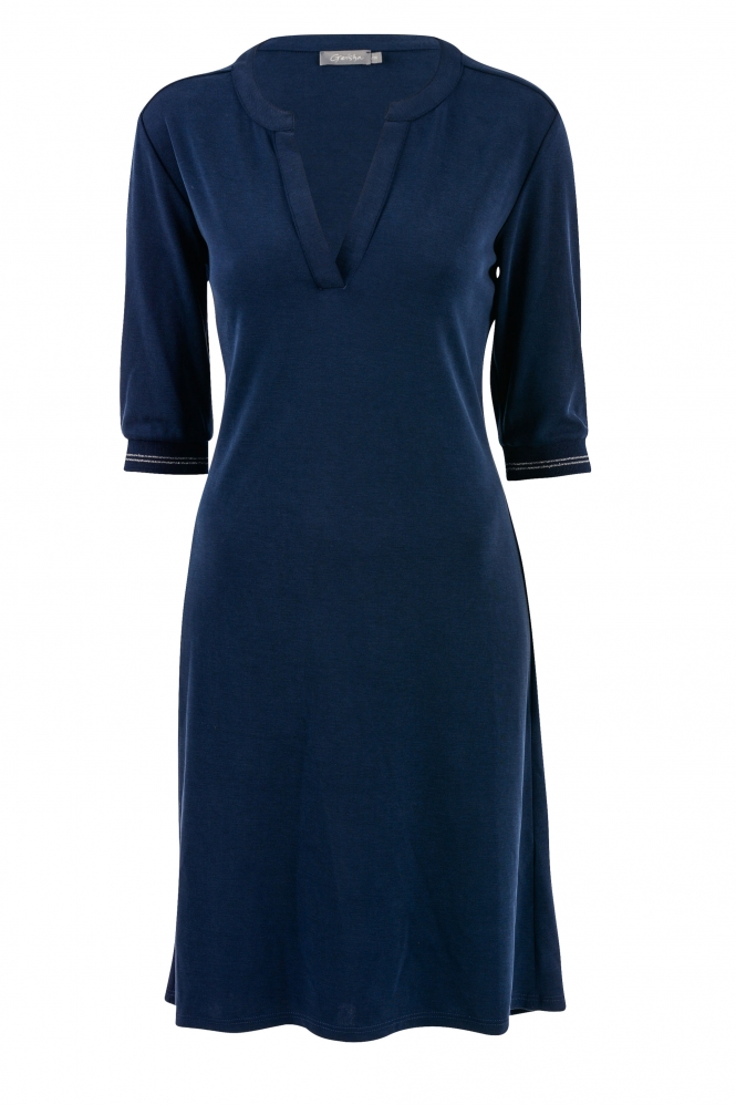 geisha jurk blauw
