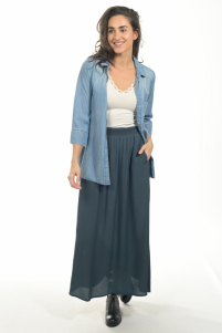 By-Bar zoe denim blouse